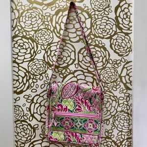 Vera Bradley Paisley Quilted Messenger Bag